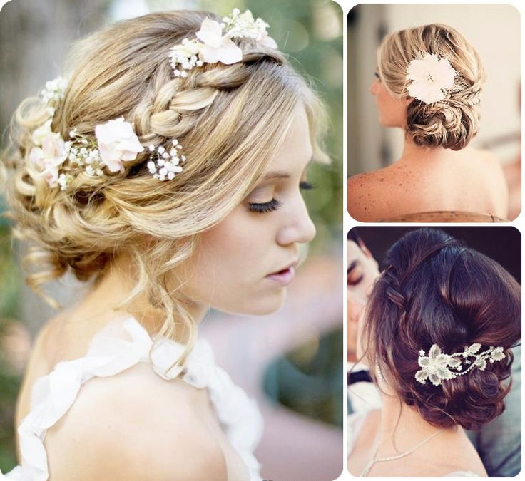 25 best ideas about Wedding hairs on Pinterest  Bridal hair updo Wedding hair updo and