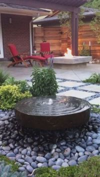 Best 25+ Backyard water feature ideas on Pinterest