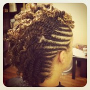 double twist mohawk naturaltress