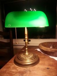 25+ best ideas about Bankers Lamp on Pinterest   Vintage ...