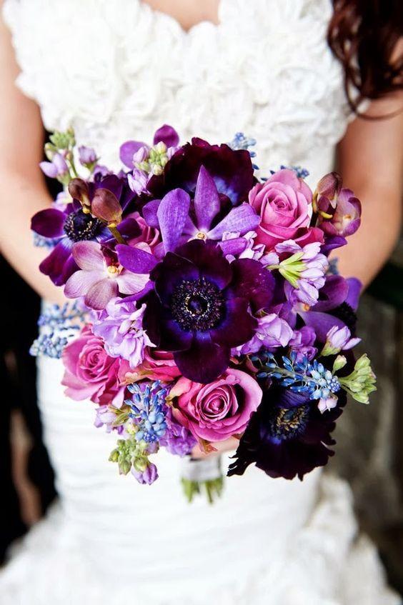 25 Best Ideas About Purple Fall Weddings On Pinterest