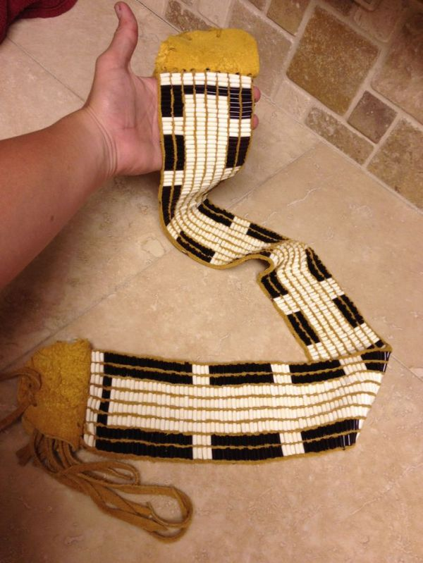78 images about Wampum Belts and Beads on Pinterest