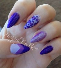 1000+ ideas about Purple Stiletto Nails on Pinterest ...