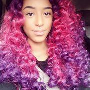 1000 ideas dyed curly hair