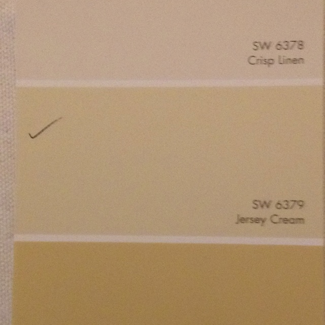 Jersey cream 6379sherwin Williams  Entryway  Pinterest