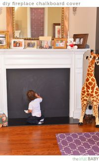 25+ best ideas about Fireplace cover on Pinterest