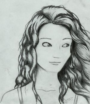 curly draw cartoon anime drawn drawing curl chick stuff face boys explore pencil