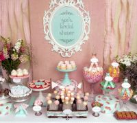 Vintage Shabby Chic Bridal/Wedding Shower Party Ideas ...