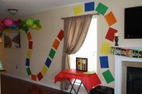 Candy Land wall decor to look like the board game ...