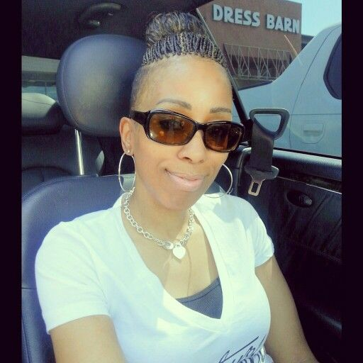 Micro Braids Shaved Sides My Styles Pinterest Shaved