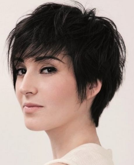 1000 ideas about Short Thick Hair on Pinterest  Thicker hair Thick hair and Pixie haircuts