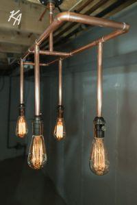 25+ best ideas about Copper light fixture on Pinterest
