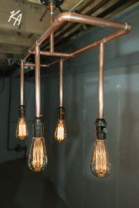 25+ best ideas about Copper light fixture on Pinterest ...