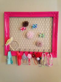 25+ best ideas about Hair Accessories Holder on Pinterest
