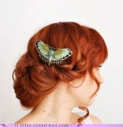 1000 ideas butterfly hairstyle