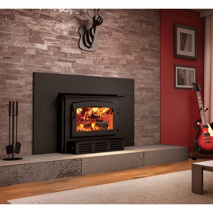 Drolet Escape 1800i Fireplace Wood Insert 75000 BTU
