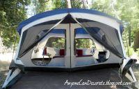 embark 9 person cabin tent with screen porch - 14'x15 ...