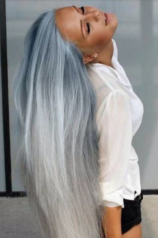 The how to steps for cool grey hair: dying your hair