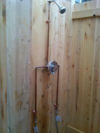 Best 25+ Outdoor shower fixtures ideas only on Pinterest ...