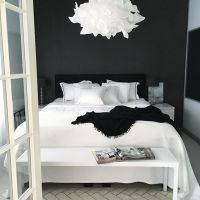25+ best ideas about Black bedrooms on Pinterest