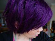"""special effects"" deep purple hair"