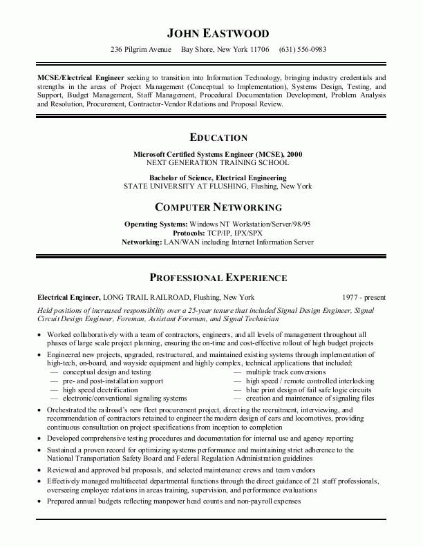 Examples Of Best Resumes