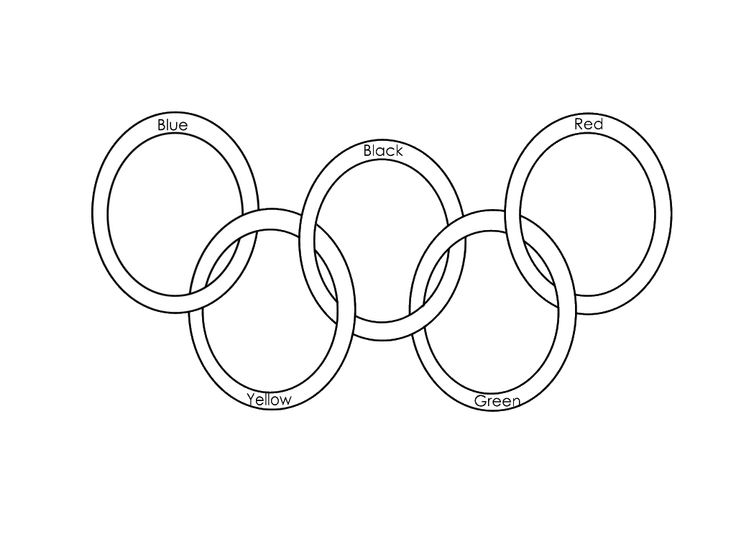 25+ best ideas about Olympic Rings Colors on Pinterest