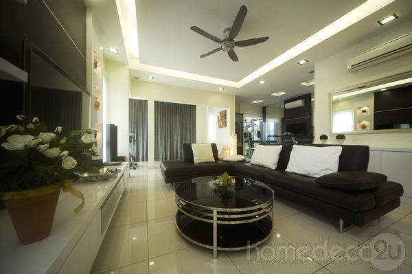 Modern Contemporary Interior Design On 2 1 2 Storey House Of Modern