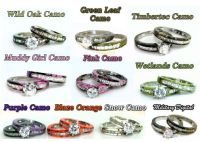 All the colors of our camo rings! | Camo Rings and Wedding ...