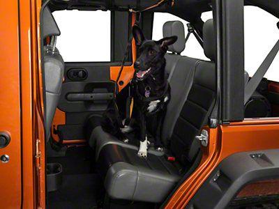 Pet Backseat Auto Zip Line w Leash 8716 Wranger YJ TJ