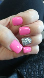 pink bling nails ideas