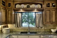 Window Treatment: Over the Sink Kitchen Curtains | Kitchen ...