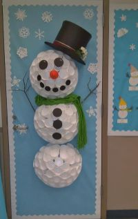 Christmas Snowman Classroom Door Decorations | www.imgkid ...