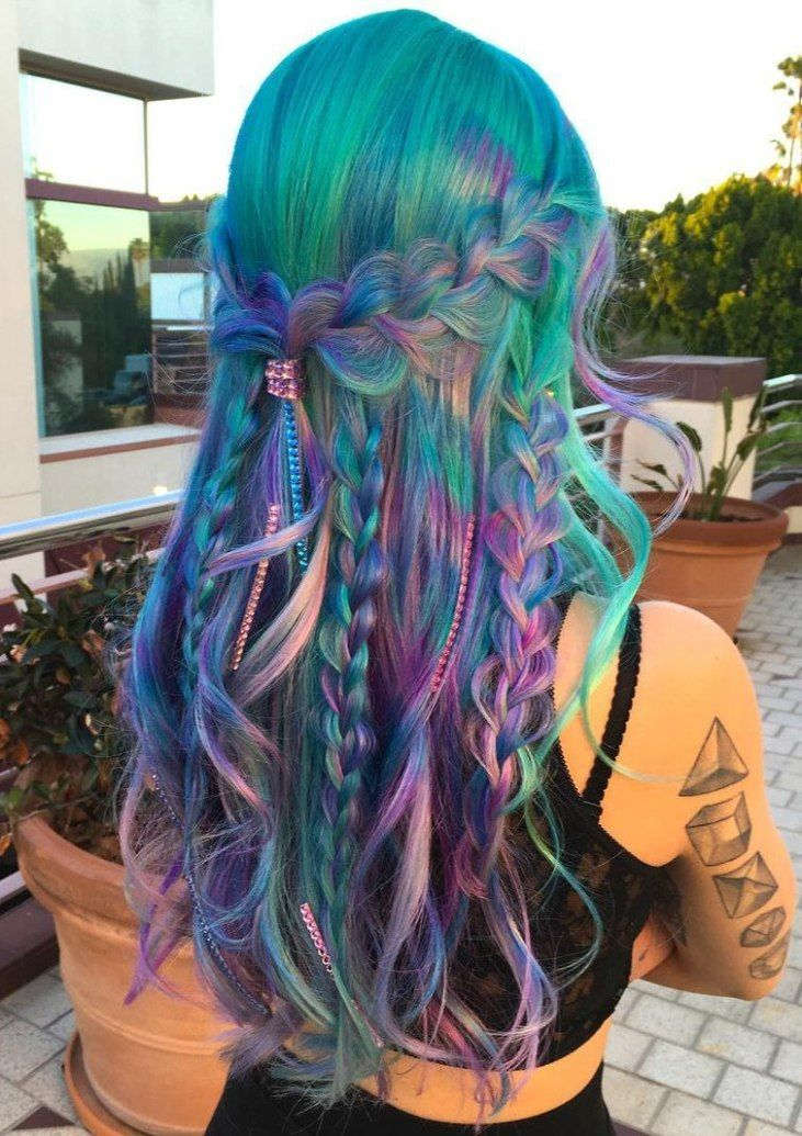17 Best ideas about Turquoise Hair on Pinterest  Teal