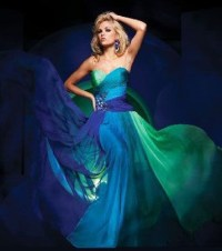 1000+ images about Tony Bowls Peacock Dresses on Pinterest ...