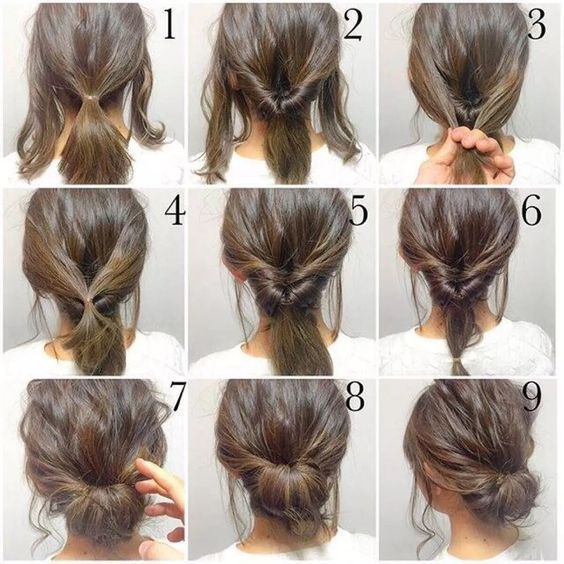 25 Best Ideas About Updo Hairstyles Tutorials On Pinterest Easy