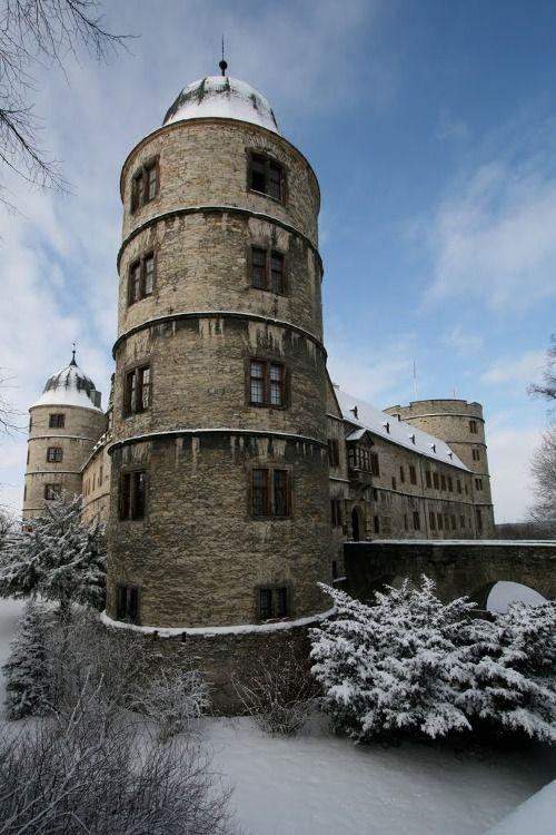 Wewelsburg Castle In Winter  Vril  Pinterest Castles