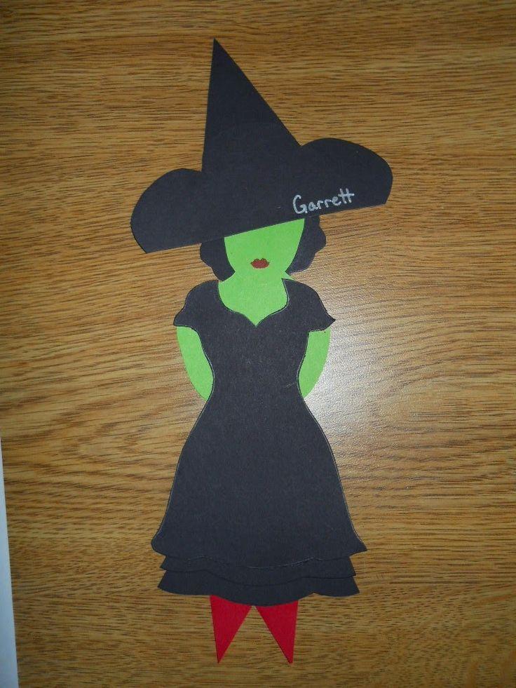 Wicked Witch of the West door dec