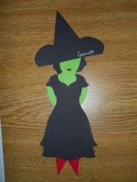 Wicked Witch of the West door dec