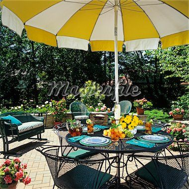 50 best images about Yellow patio furniture on Pinterest