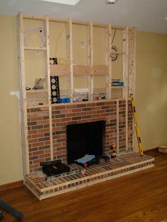 Best 25 Brick fireplace remodel ideas on Pinterest