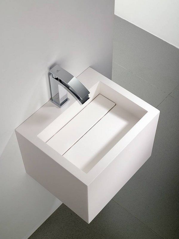 Yat Sink In Krion By Systempool With Hidden Drainage