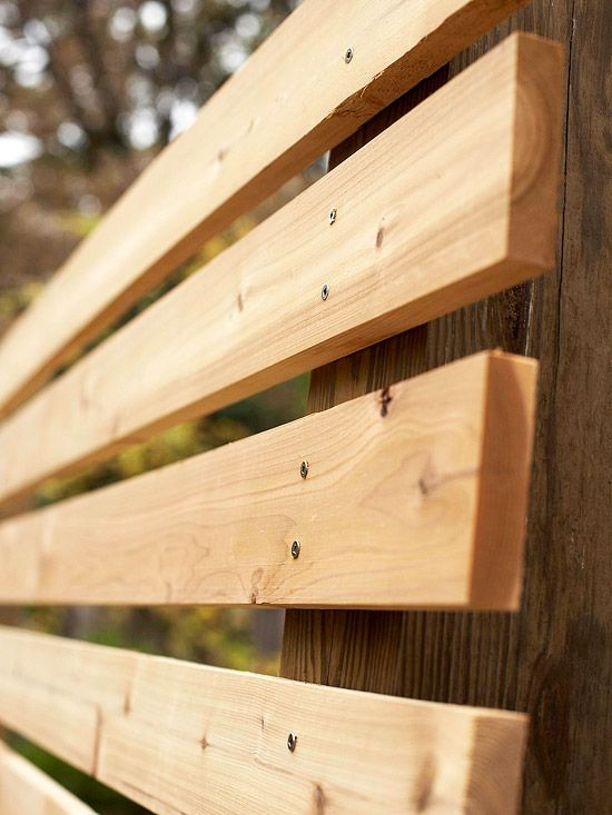 Horizontal Cedar Fence Panels WoodWorking Projects Amp Plans