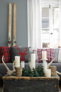25+ best ideas about Plaid Decor on Pinterest | Red ...