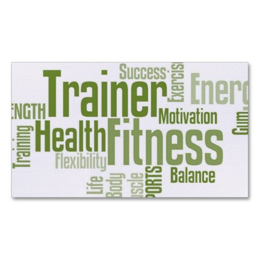 Best 25 Personal Trainer Business Cards Ideas On