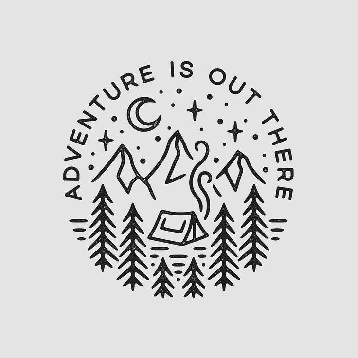 Best 25+ Camping tattoo ideas on Pinterest