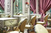pretty hair salon. salon ideas