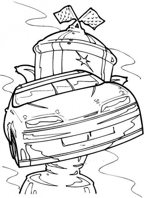 Cool coloring pages, NASCAR and Racing on Pinterest