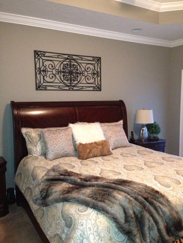 Master Bedroom Sherwin Williams Pavestone  B E D R O O M