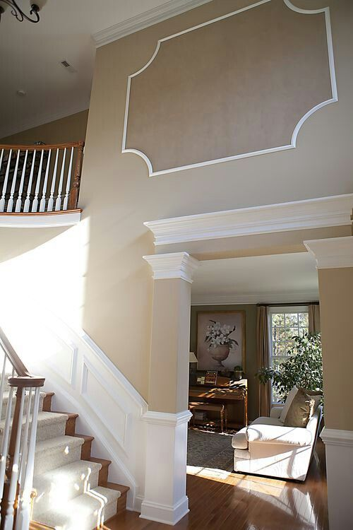 white sofa living room traditional interior design pictures 1000+ images about 2 story wall ideas on pinterest | ...